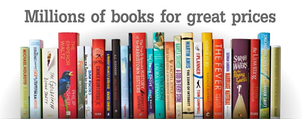 Millions of books for great prices
